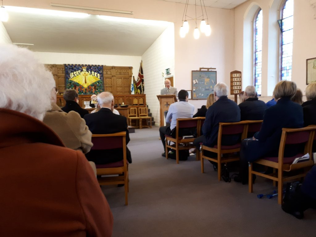 Heath URC (United reformed Church) worship space